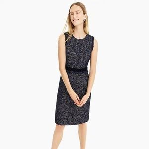 NWT J. Crew Sparkle tweed dress